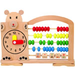 Часы со счетами (B-015)