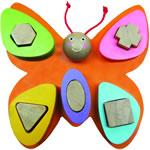 Бабочка Формы - цвета (A-079)