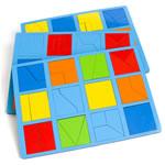 Комплект головоломок Никитина Сложи квадрат (формат A4)