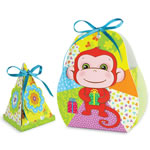 Коробочка для подарков Веселая обезьянка