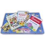 Комплект кубиков Зайцева с бесплатным обучением мамы, Домашней тетрадью для малыша, ручкой-самоучкой, тетрадью для прописей, книгой о воспитании и раскрасками