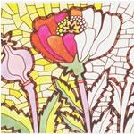 Комплект мозаичных раскрасок