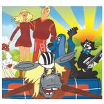 Комплект мультфильмов на английском языке