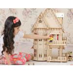 Большой набор мебели для кукольного домика