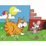 Кот и мышонок (DE-027)