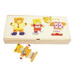 Семья медведей (в коробке, D-117)