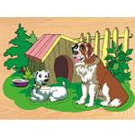 Собака и щенок (D-122)