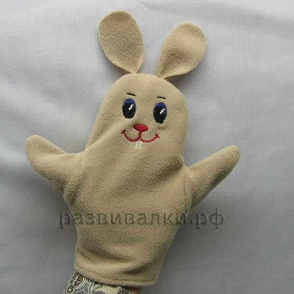 Рукавичка для кукольного театра своими руками